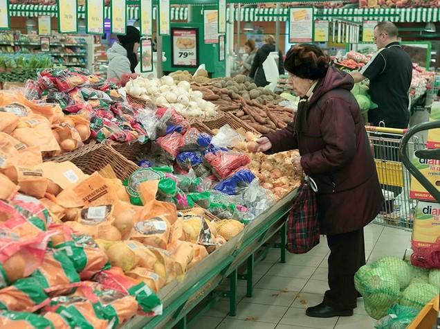 Гражданам страны предлагаются продукты питания в кредит